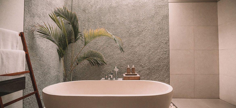 Clean bathroom interior